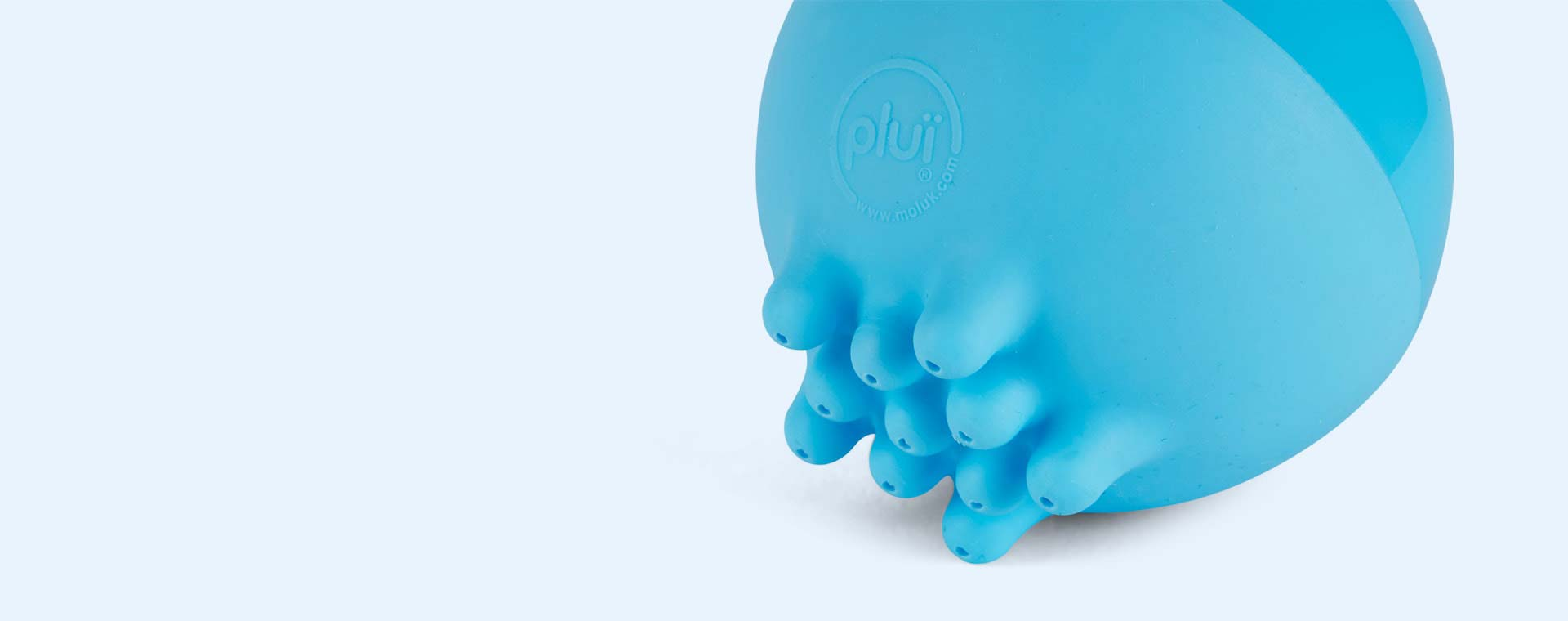 Blue Moluk Plui Rainball Toy