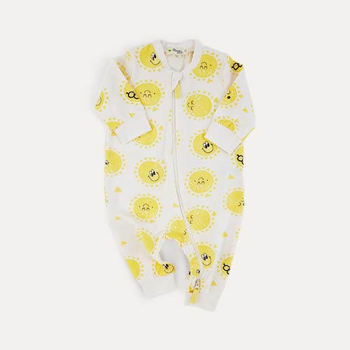 Sunshine The Bonnie Mob Zip Front Playsuit