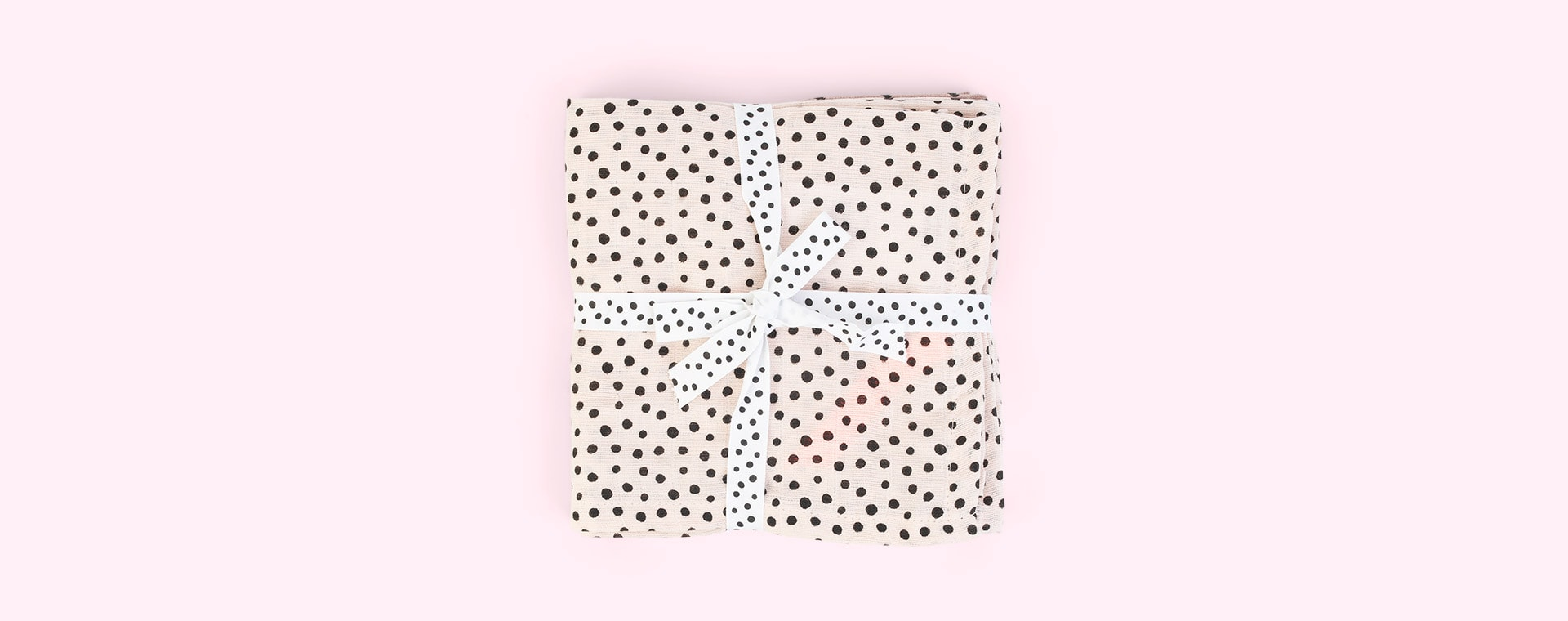 Happy Dots Powder Done By Deer 2-Pack Burp Cloth