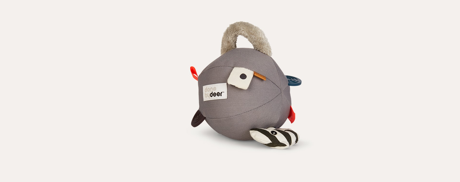 Grey Done By Deer Activity Ball