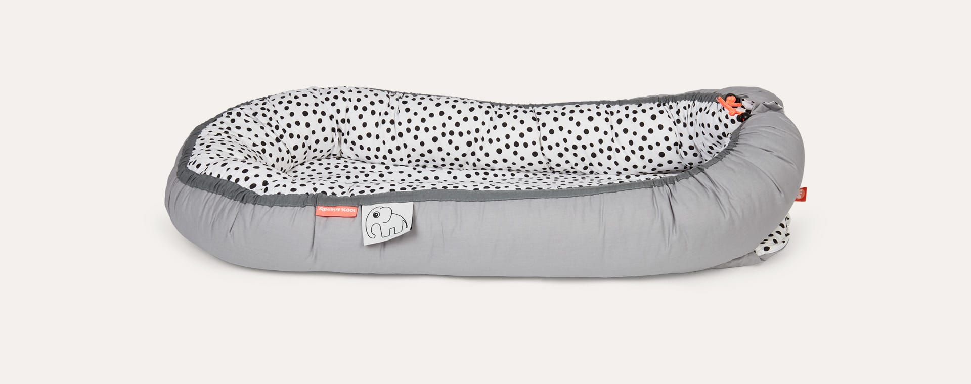Grey Done By Deer Happy Dots Cozy Nest