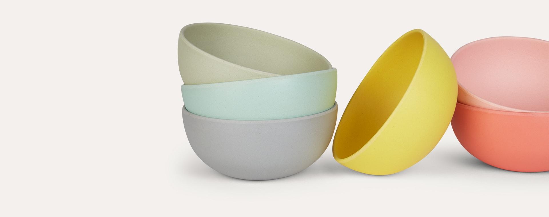 Multi Engel Bamboo Bowls Set