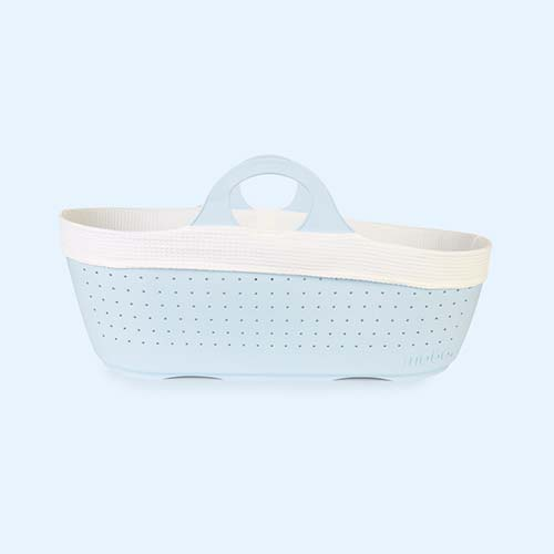 Cornflower Moba Moses Basket Set