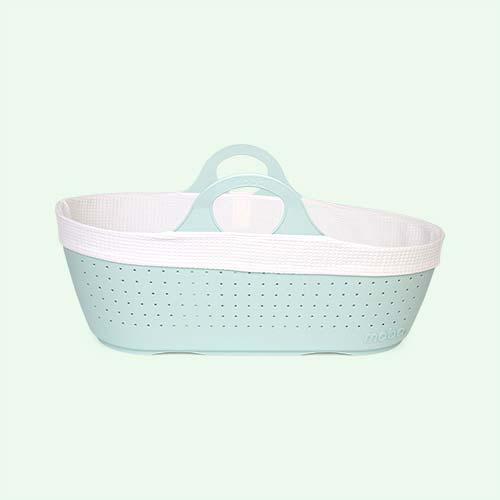 Mint Moba Moses Basket Set