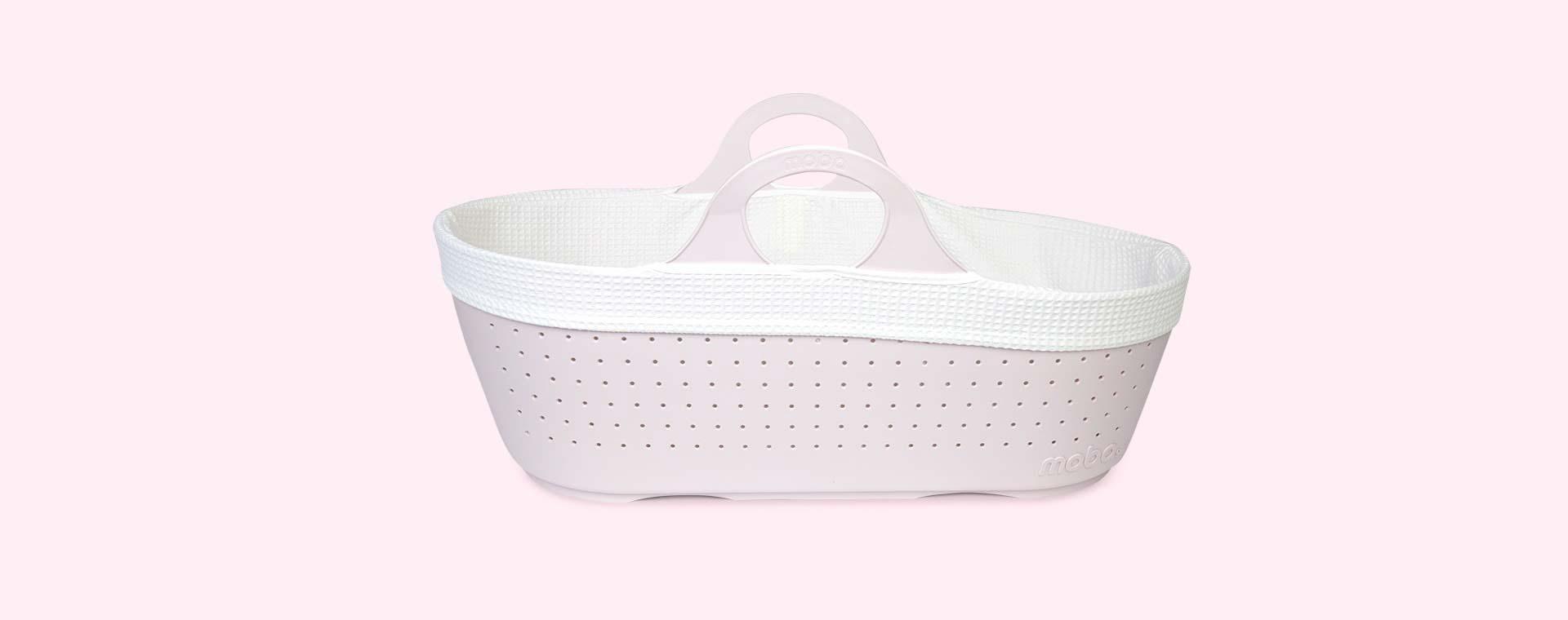 Blush Moba Moses Basket Set