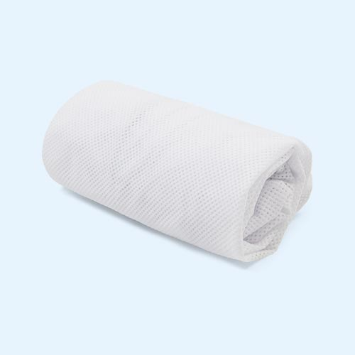 White Aerosleep Sleep Safe Fitted Sheet