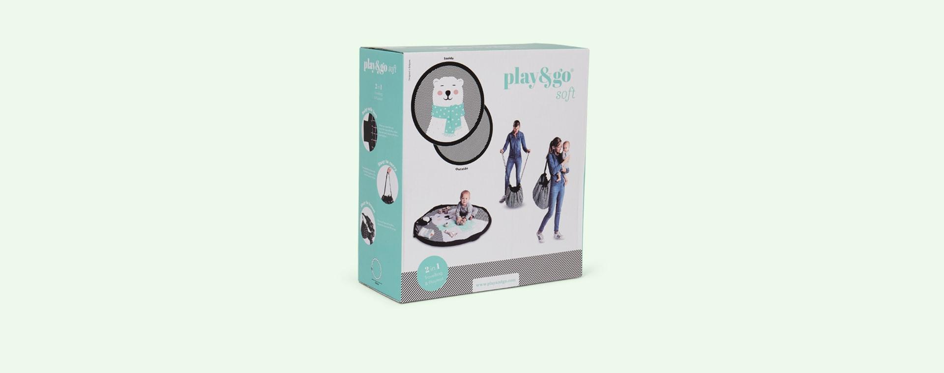 Polar Bear Play & Go Soft 2-in-1 Playmat