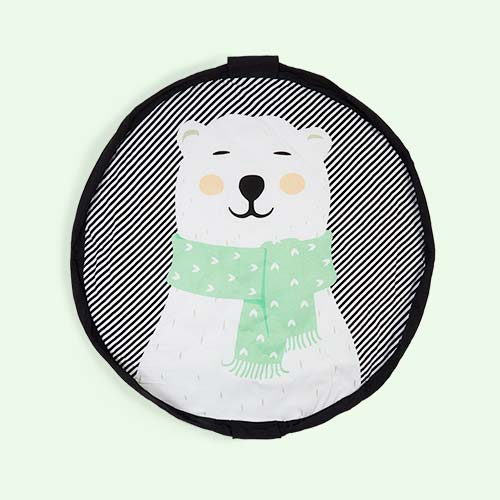 Polar Bear Play & Go Soft 2-in-1 Playmat