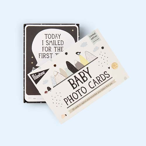 Multi Milestone Baby Cards Over The Moon