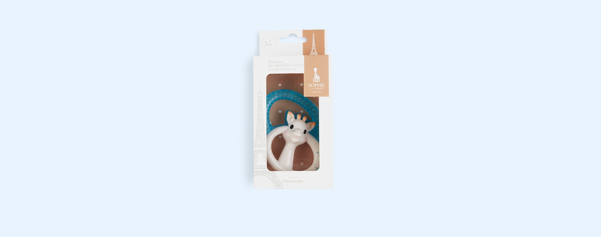 Neutral Sophie la girafe Cooling Teething Ring