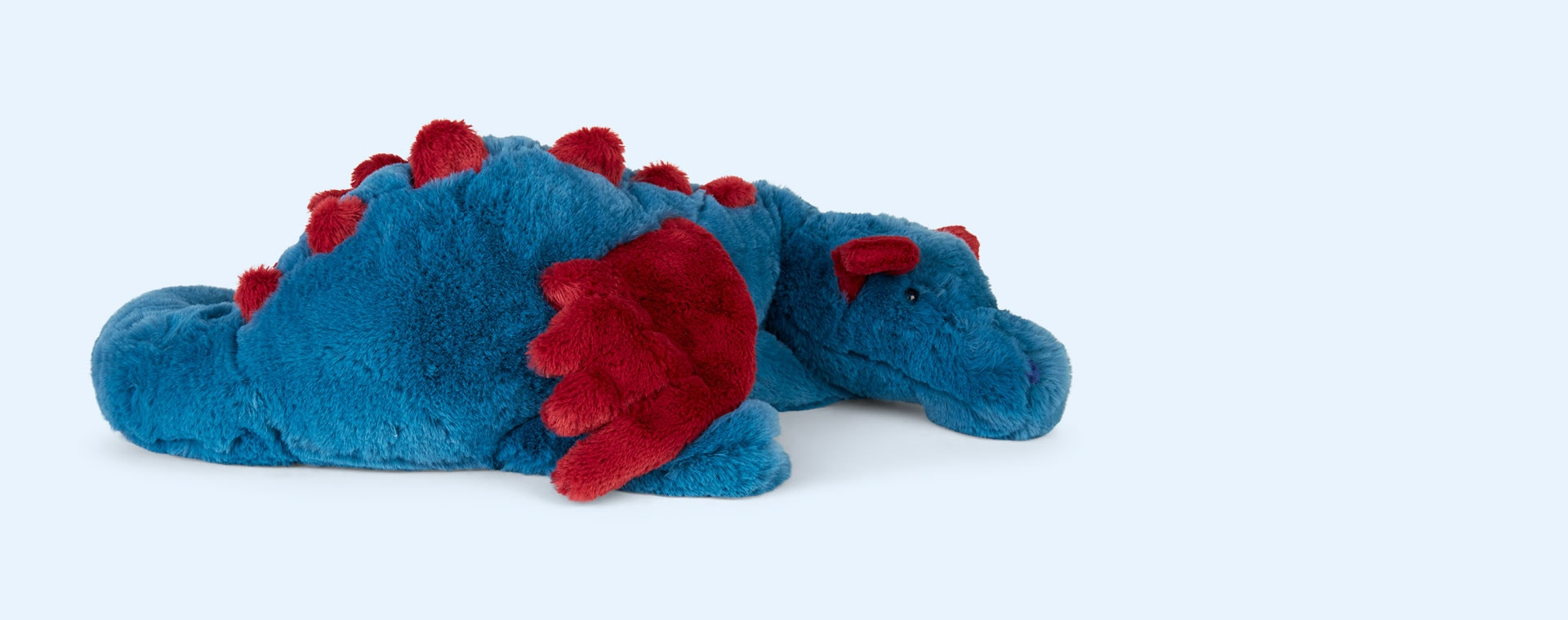 Blue Jellycat Dexter Dragon Large