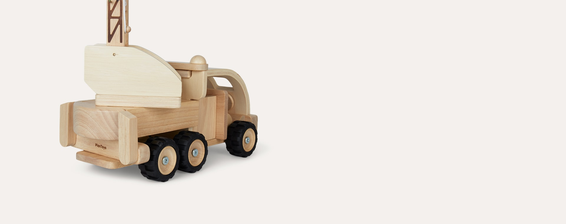Neutral Plan Toys Fire Truck