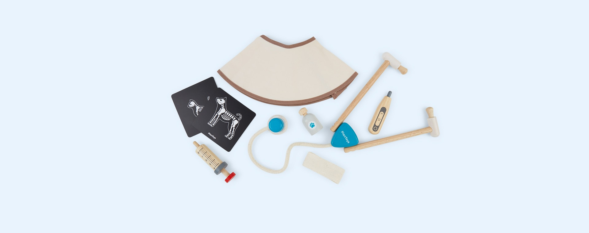 Blue Plan Toys Vet Set