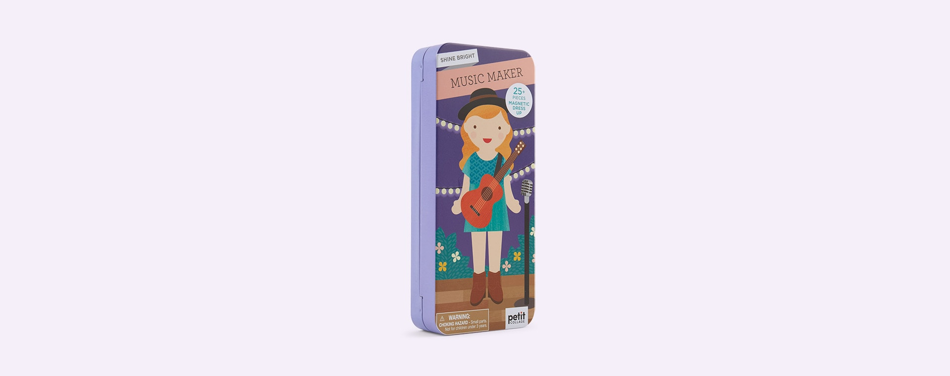 Music Maker Petit Collage Shine Bright: Magnetic Dress Up