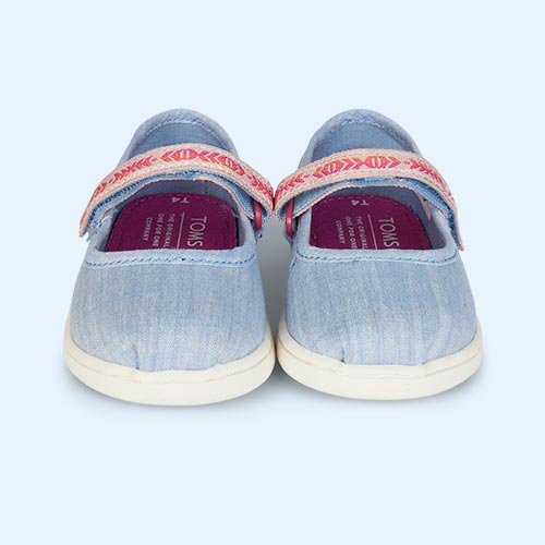 Chambray TOMS Mary Jane Shoe