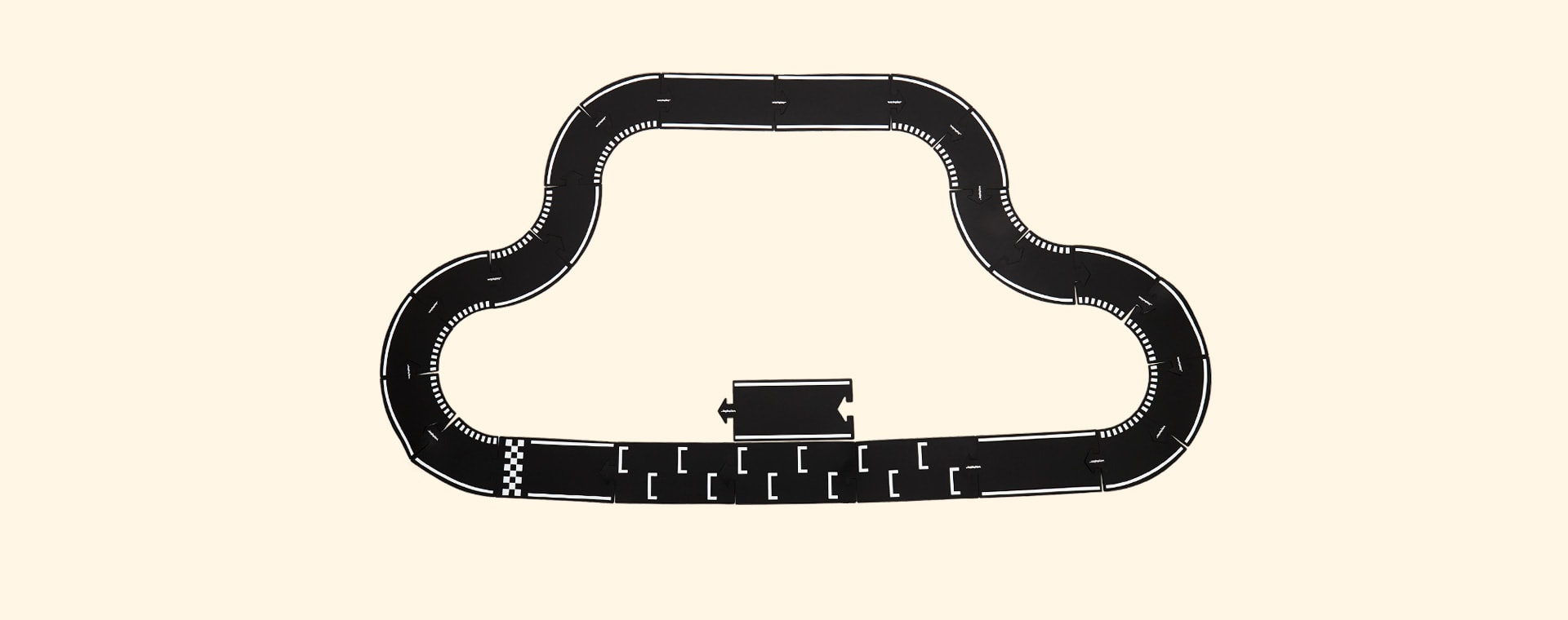 Black waytoplay Grand Prix 24 Piece Set