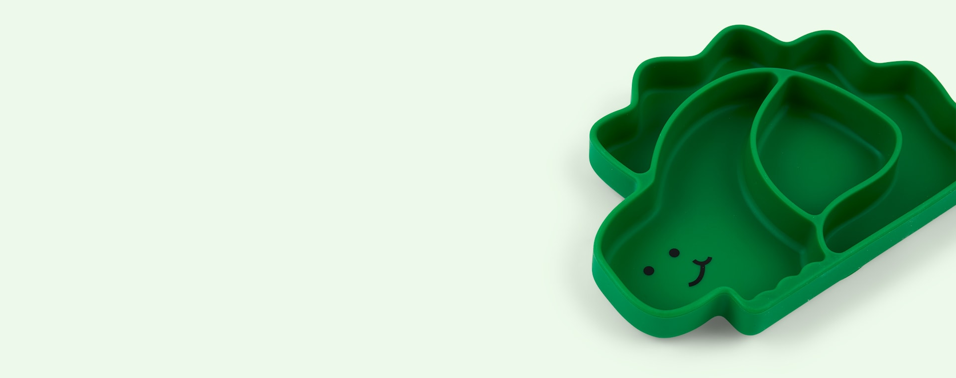 Dinosaur Bumkins Silicone Animal Grip Dish