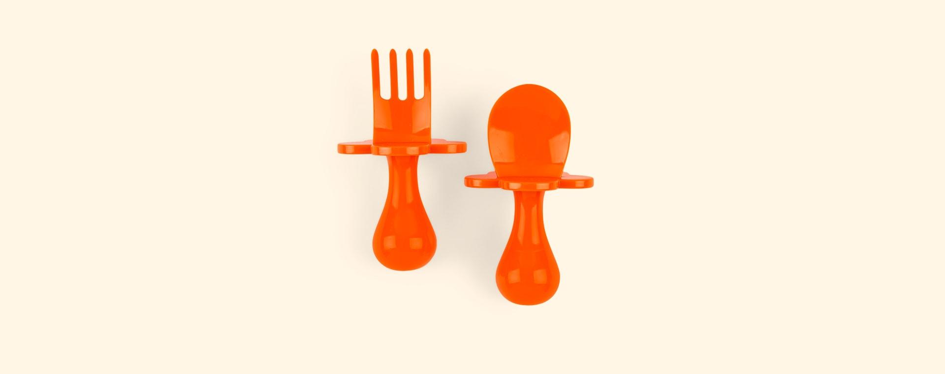 Orange Grabease Cutlery Set