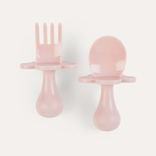 Pink Grabease Cutlery Set