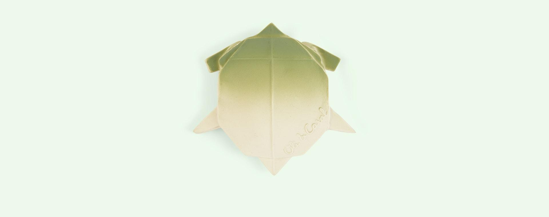 Green Oli & Carol H2Origami Turtle