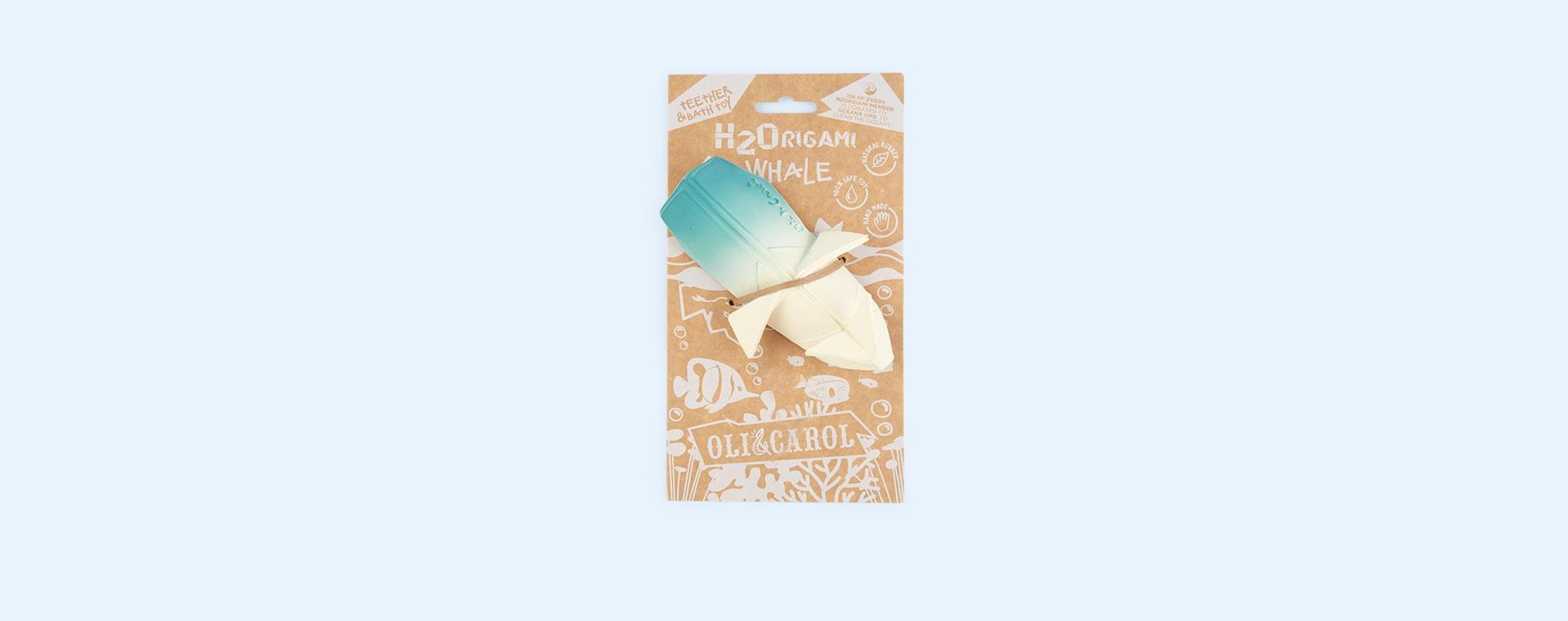 Blue Oli & Carol H2Origami Whale