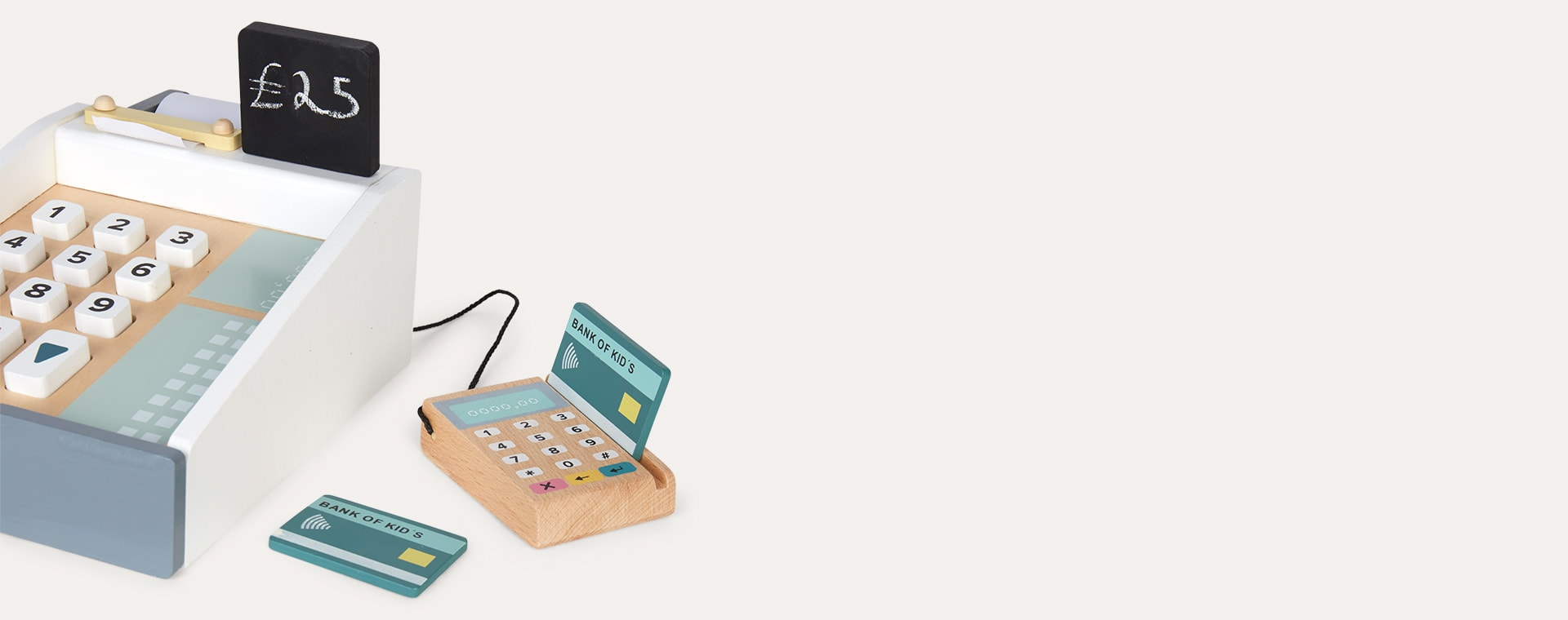 Neutral Kid's Concept Cash Register