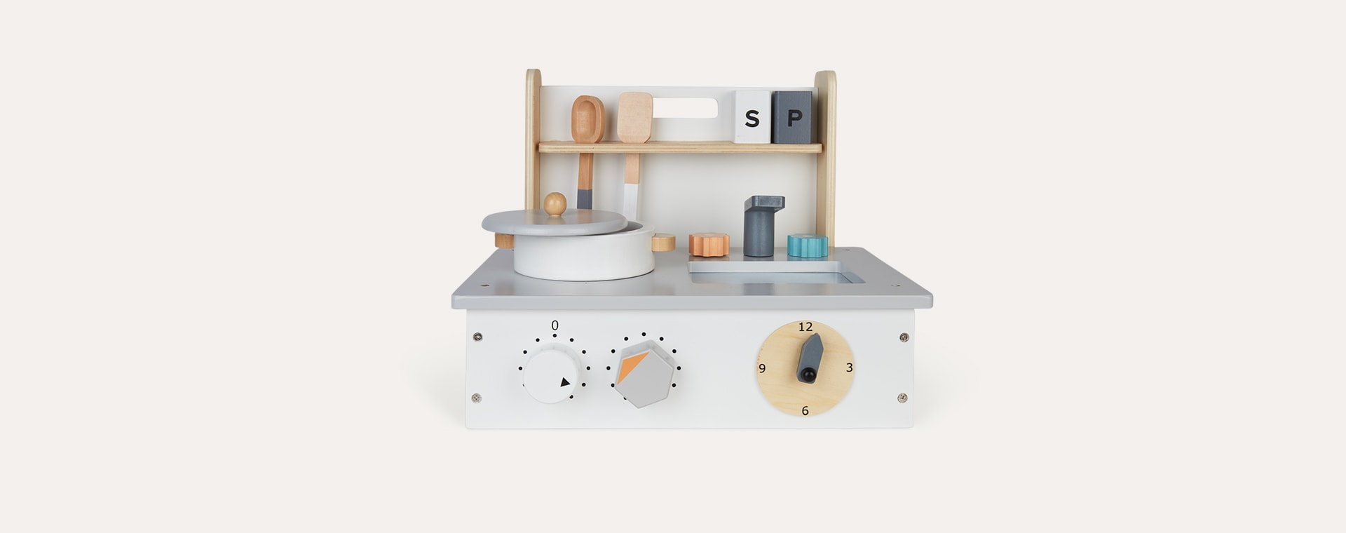 Neutral Kid's Concept Mini Kitchen