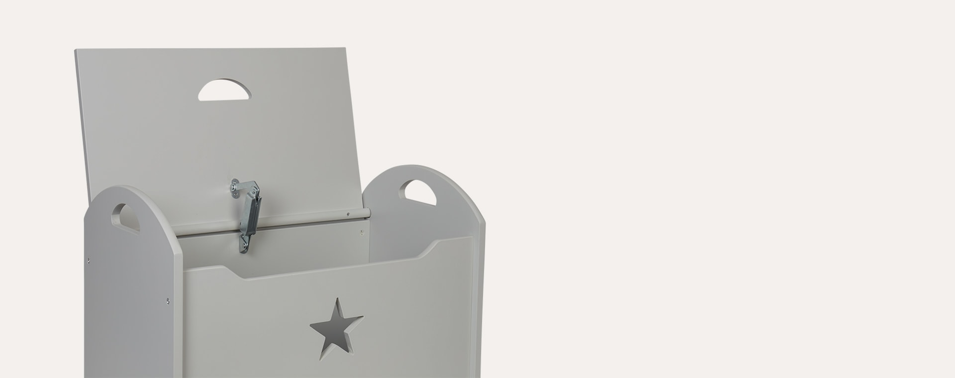 Grey Kid's Concept Star Toy Chest
