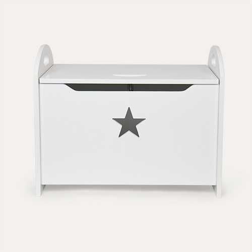 White Kid's Concept Star Toy Chest