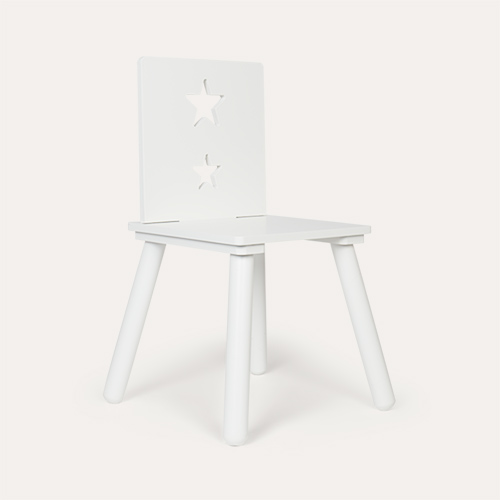 White Kid's Concept Star Chair