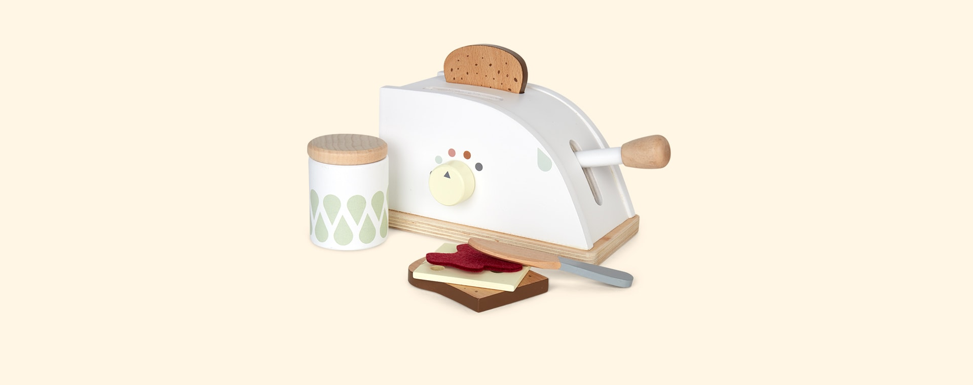 Neutral Kid's Concept Toaster