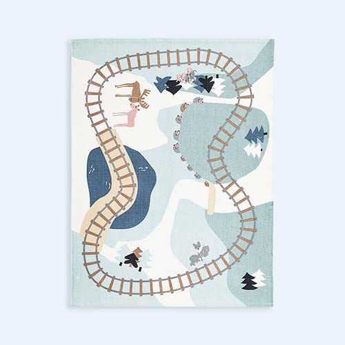 Multi Kid's Concept Woodland Rug