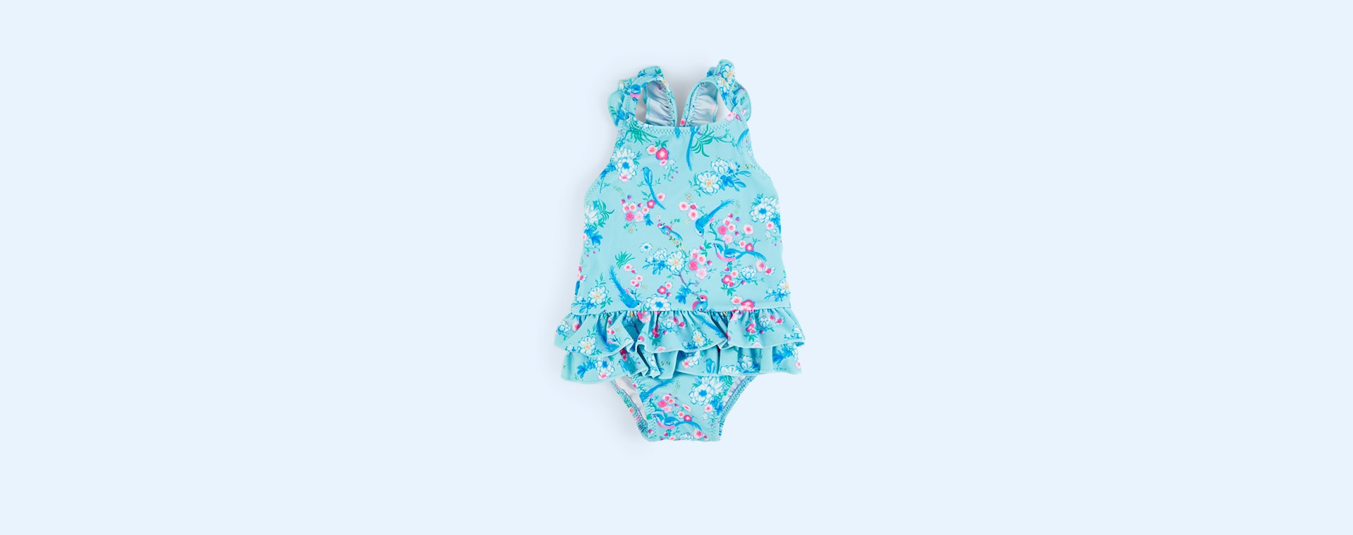 Aqua Sunuva Baby Girls Frill Swimsuit
