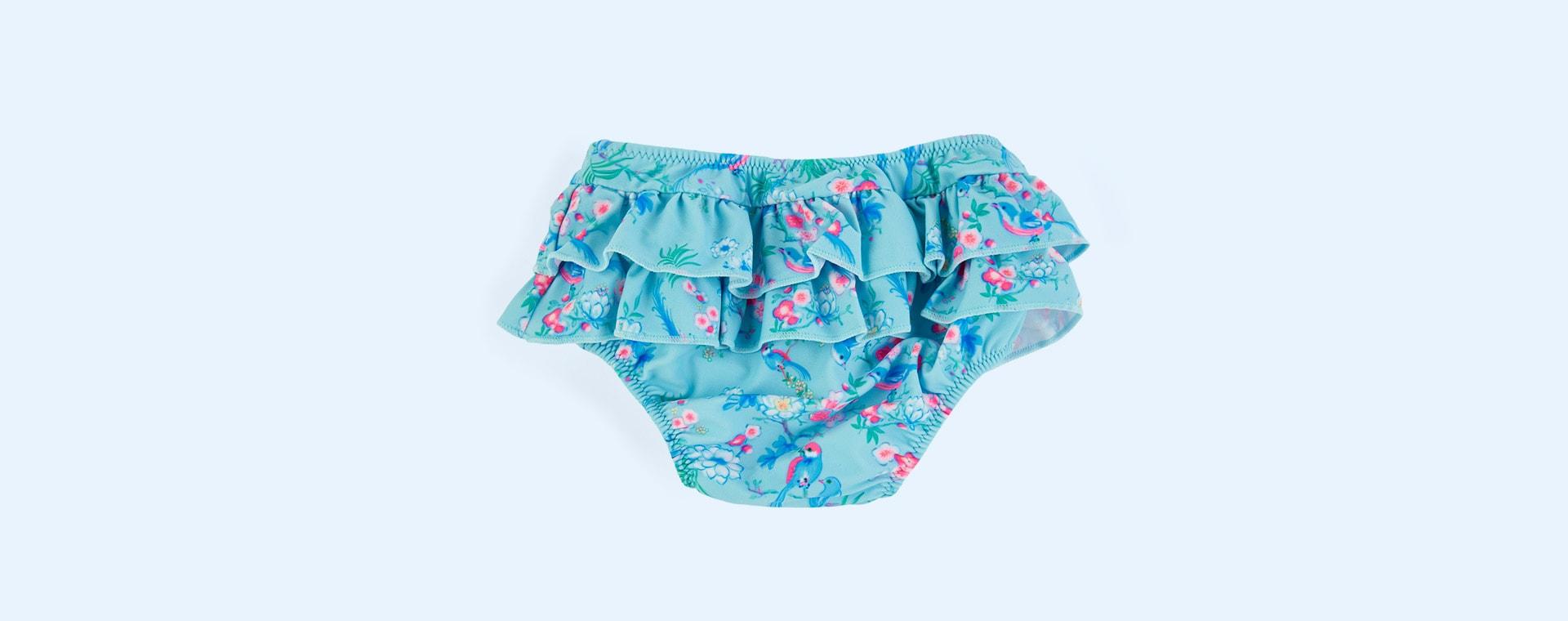 Aqua Sunuva Baby Girls Frill Nappy Pant