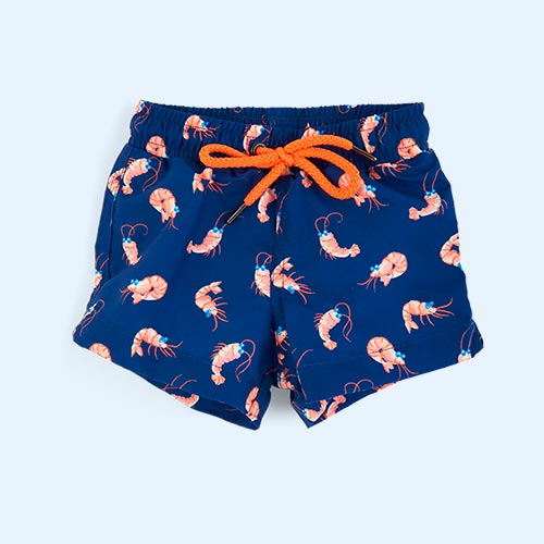Navy Sunuva Baby Boys Swimshort