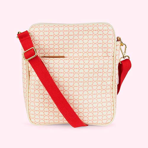 True Love Pink Lining Out & About Mini Messenger Bag