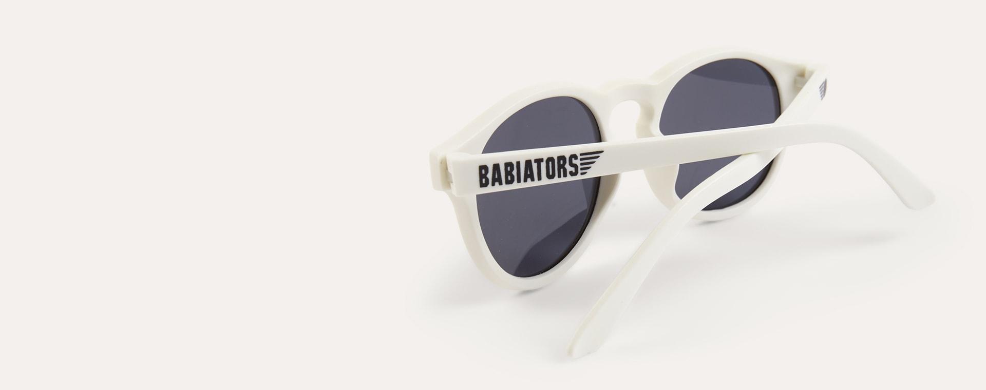 Wicked White Babiators Limited Edition Keyhole Sunglasses