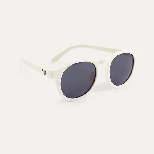 Wicked White Babiators Limited Edition Keyhole Sunglasses