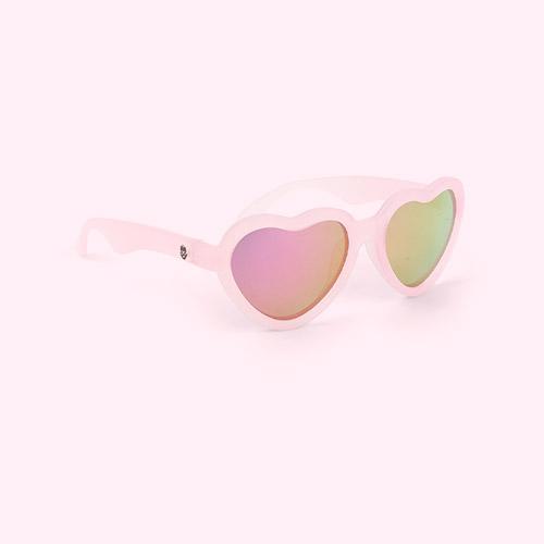 The Influencer Babiators Blue Series Heart Sunglasses