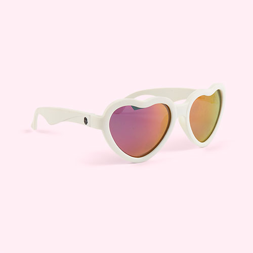 White Babiators Blue Series Sweetheart Sunglasses
