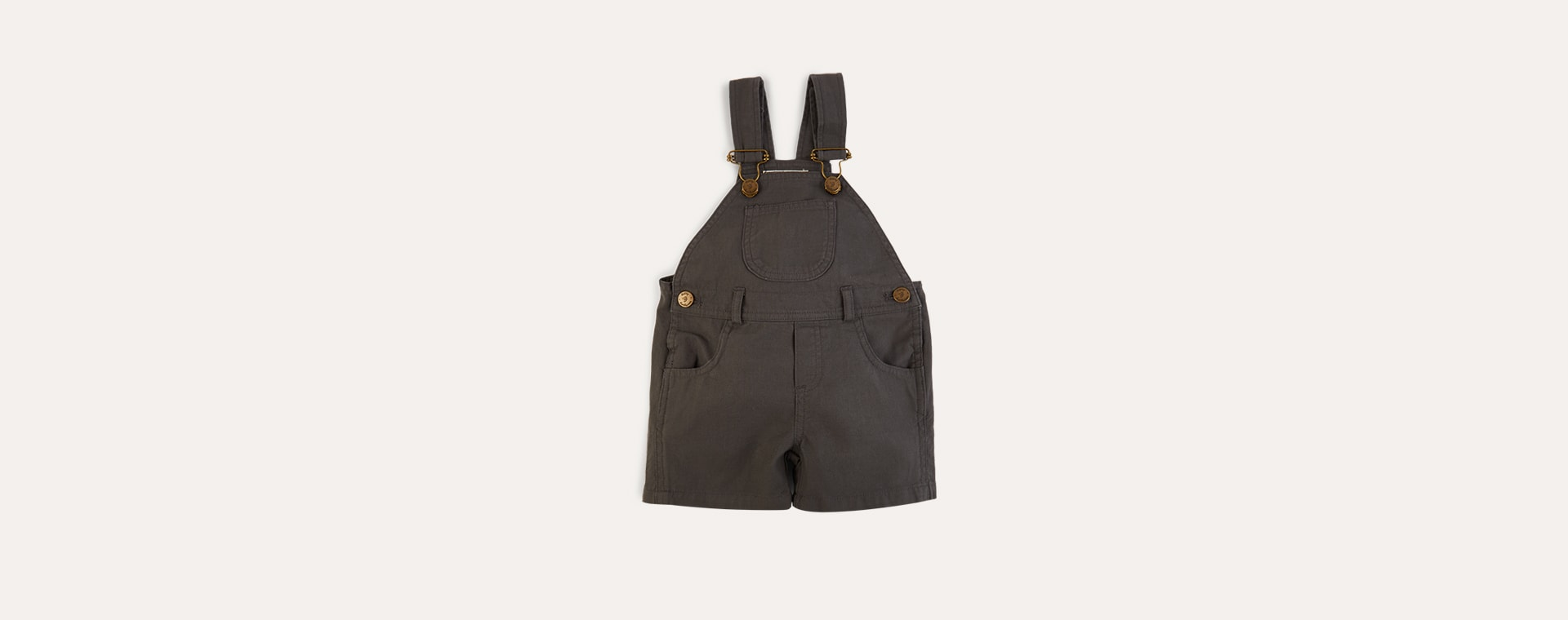 Pebble Dotty Dungarees Cotton Short Dungarees