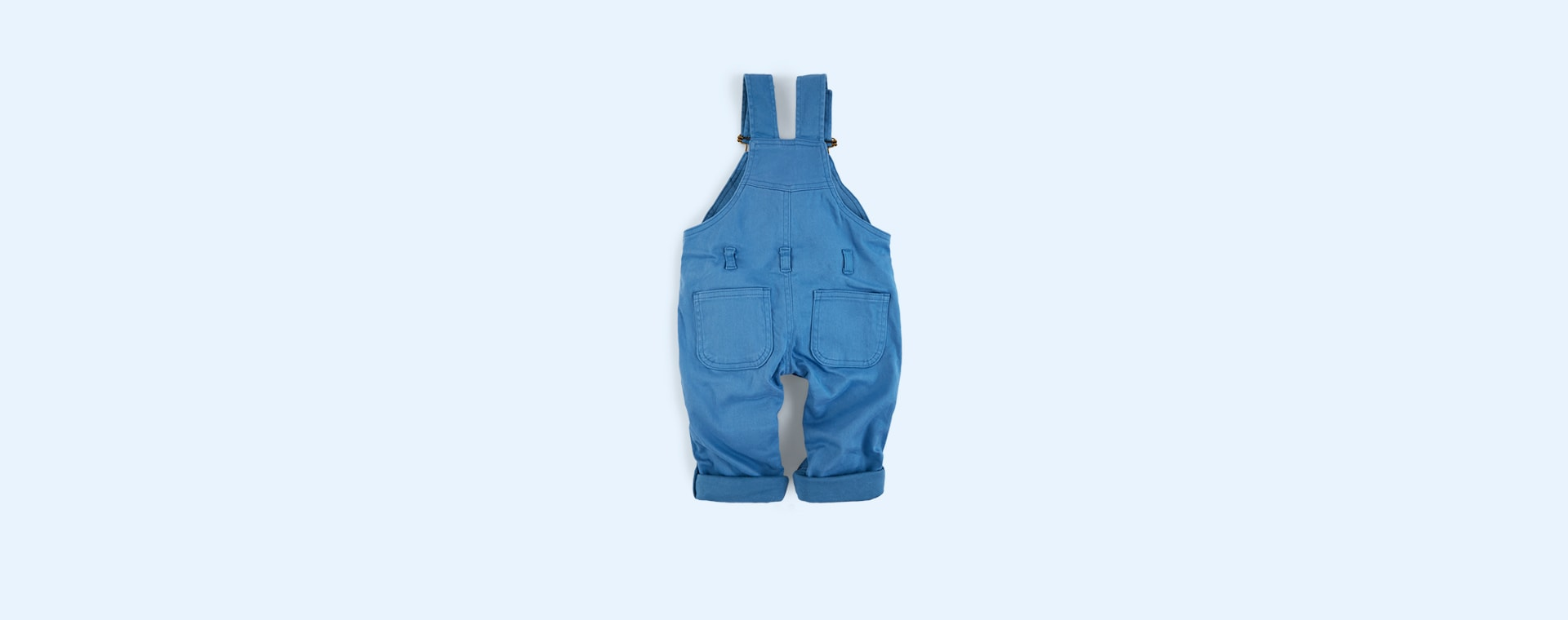 Cornflower Blue Dotty Dungarees Dungarees
