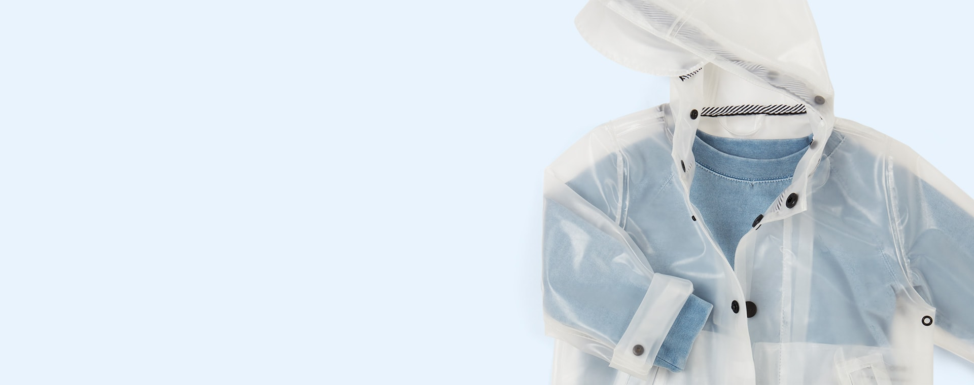 Transparent GOSOAKY Unisex Raincoat