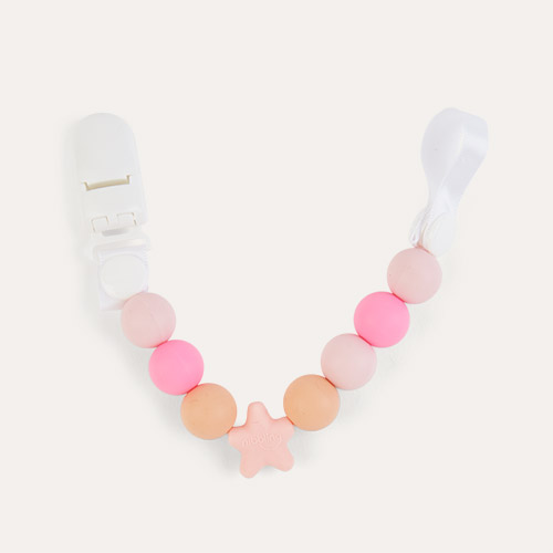Pink Nibbling Comet Dummy Clip