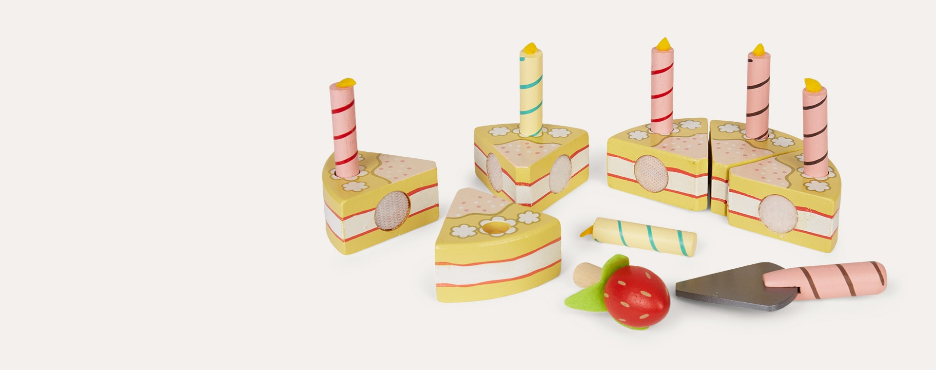 Multi Le Toy Van Vanilla Birthday Cake
