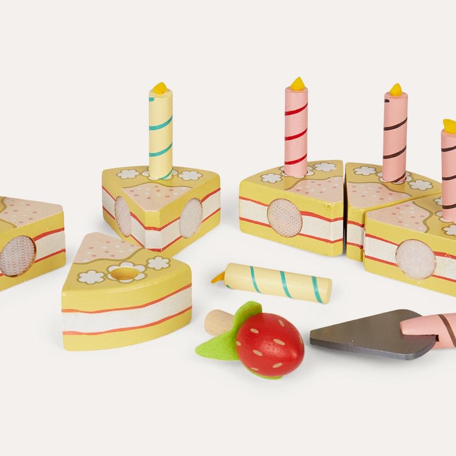 Peachy Buy The Le Toy Van Vanilla Birthday Cake At Kidly Uk Funny Birthday Cards Online Inifodamsfinfo