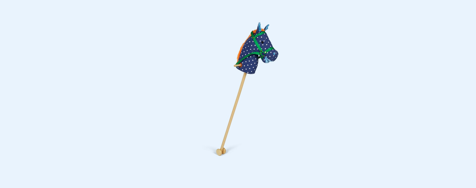 Blue With Stars Rice Hobby Horse