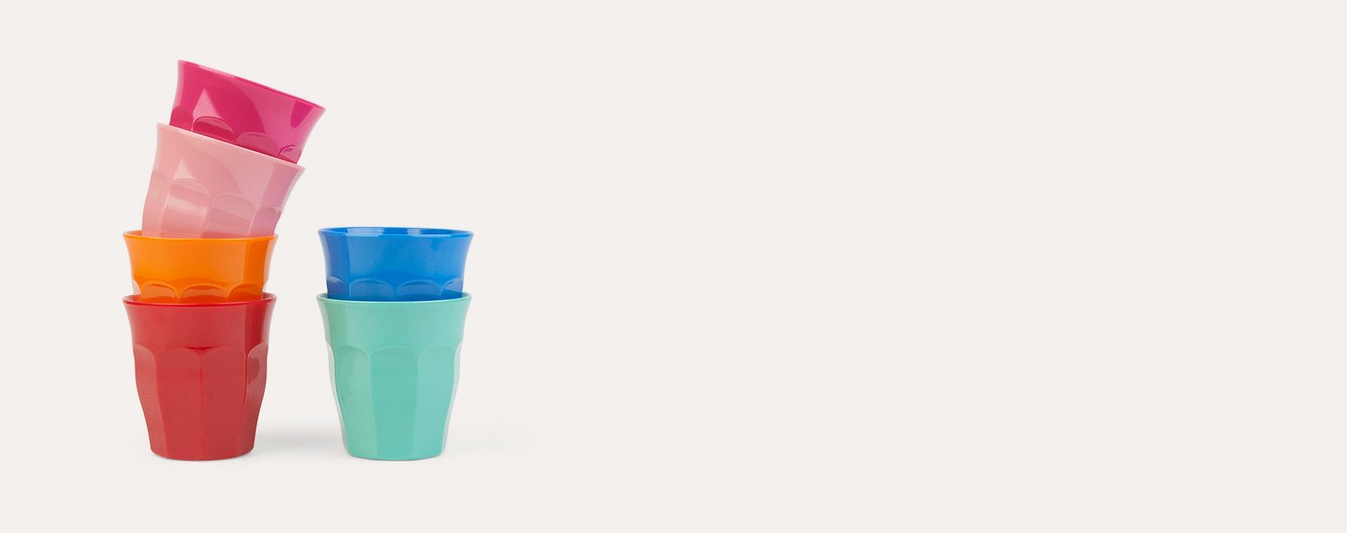 Choose Happy Rice Melamine Cups 6 Pack