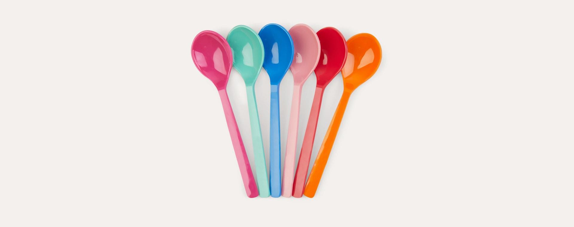 Choose Happy Spoons Rice 6-Pack Melamine Cutlery