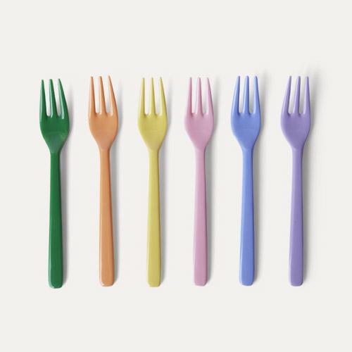 Summer Pastels Forks